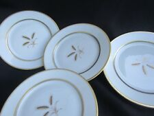 set of 4 Rosenthal Bountiful Wheat  Bread & Butter Plates