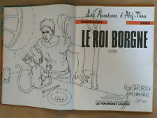 ARNO / DEDICACE / ALEF-THAU / LE ROI BORGNE /  HUMANO EO 1986