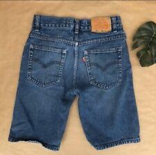 Kid's Levis 505 Denim Shorts Medium Wash Jeans Size 10