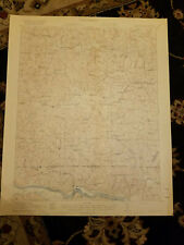 22x29 1920 USGS Topo Map White Plains, Virginia Zion Union School Roanoke River