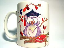 The Three Merchants - Mug Ceramic With Handle - Owl Graduate