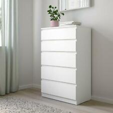 IKEA Kullen Drawer Set Chest of Drawers Bedroom Furniture-5 Draw Chest in White