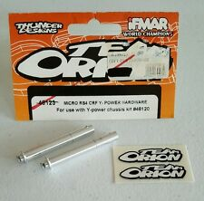 TEAM ORION HPI RACING RC MICRO RS4 CRF Y-POWER HARDWARE 48123 NIP