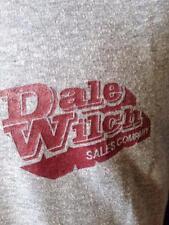 Vintage Speed Shop Dale Wilch Sales Co  Kansas City Kansas Hot Rod Car T Shirt L