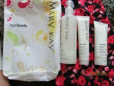 New $36 3 PIECE SET~~Full Sized MARY KAY SATIN HANDS PAMPERING~ Fragrance Free