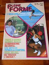 PLEINE FORME #50 female bodybuilding muscle magazine 8-82 (Fr)