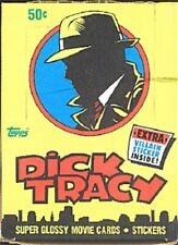 1990 Dick Tracy motion picture movie full box by The Topps Company, 36 packs Mib