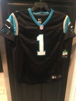 Cam Newton Carolina Panthers NFL Women's Jersey Black Size XL New