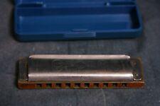More details for vintage m hohner d.verdienste gr bronce made in germany harmonica