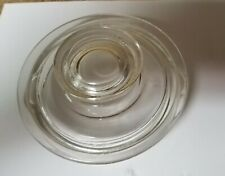 """Vintage Pyrex Glass Lid ONLY 4 5/8"""" 4"""" inner Replacement Part 6 Cup Coffee Pot"""