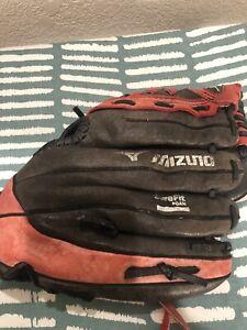 "Mizuno Max Prospect Youth 11"" Leather Baseball Glove GGP 1100Y1T"
