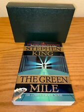 The Green Mile by Stephen King (1997, Trade Paperback) used but with slipcase