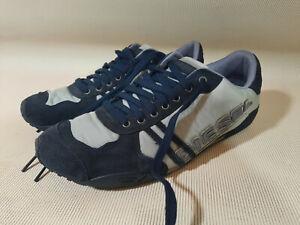 Diesel SOLAR Blue Fashion Sneakers US Men's 8 EU 40.5