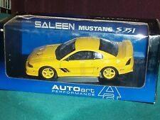 AUTO ART 1998 FORD SALEEN MUSTANG S351 COUPE 1/18 YELLOW VHTF