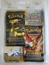 Pokemon 2 x Heartgold Soulsilver Booster  im Blister - OVP - Deutsch