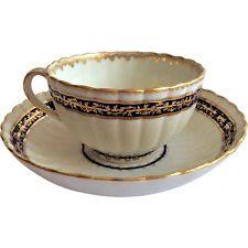 Fine Royal Crown Derby handpainted fluted tea cup, c.1784, 18th C, Exc Cond