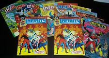 New listing Lot/12 Vfnm-Nm Infinity Inc #1 x2, 2 3 5 6 7 10 11 12 19 20 Golden Age Dc Heroes