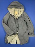 cnc costume national parka jacket donna usato W32 tg 46 sherpa giubbino T5430