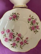 ROYAL ALBERT*Pink Roses*Bone China*TEA CUP & SAUCER*Englabd