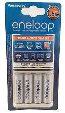 Panasonic cargador rápido bq-cc16 + 4x Eneloop AA batería BK -3 mcce