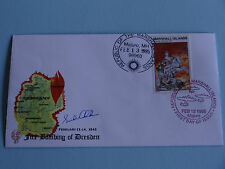 WWII FDC #87 Fire Bombing Dresden Germany Sml Cachet * 50th Anniversary