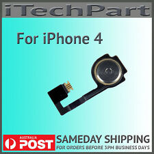 Home Button Key Repair Part Flex Cable Replacement For  iPhone 4