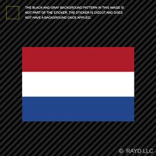 "4"" Dutch Flag Sticker Decal Self Adhesive Vinyl Netherlands"