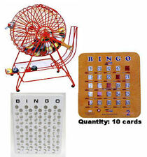 PROFESSIONAL BINGO CAGE SET (with ping-pong balls)