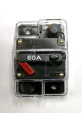 CB60 Minn Kota Compatible Trolling Motor 60 Amp Re settable Fuse Circuit Breaker