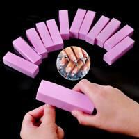 12pcs Nail Art Tips Buffer Buffing Sanding Block Files Pedicure Manicure Tools