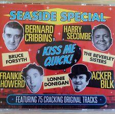 3CD NEW - SEASIDE SPECIAL - Comedy Pop Music 3x CD - Sykes Cribbins Howerd Dodd