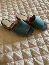 Cole Haan Women's Chambray Stripe Sandal 8.5 W09108
