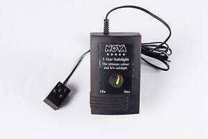 Nova 5-Star LED. Rare Mini Safelight for Colour / B&W.  Adjustable Brightness.