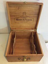 Wood Wine Box  quinta do vesuvio 1998 Vintage Port