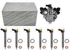 Einspritzdüse 6x Injektor Audi 3,0 TDI + Hochdruckpumpe  059130277CC 0445116040