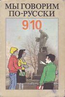 Wir sprechen russisch 9.+10. Klasse, DDR-Lehrbuch, Volk u.Wissen Berlin 1991