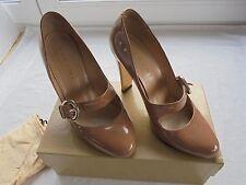 VICINI Nude Lackleder Pumps NP 350€ TOP OVP High Heels Schuhe Gr 39
