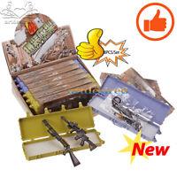 1/6 Scale 4D DIY 8PCS/Set Gun Model Assembled Machine Military Soldier Weapons