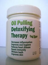 Oil Pulling Detox Formula - with oral cleansing essential oils (8 day)