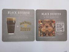 Beer Coaster ~ ROCK BOTTOM Black Beehive ~ Big Head Todd Monsters ~ Jack Daniels