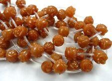 Flower Agate Craft Beads