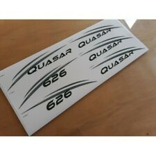 Lunar Quasar 2009 Name & Number Stickers Decals Graphics - SET OF