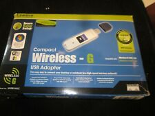 LINKSYS COMPACT WIRELESS-G USB ADAPTER IN BOX PRE-OWNED