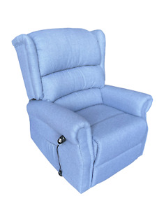 Fabric Electric Power Rise and Recline Riser Recliner Mobility Lift Tilt Chair