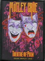Motley Crue Patch Theatre Of Pain Woven Patch Woven Patch