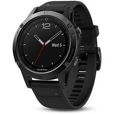 Garmin Fenix 5 Sapphire Multisport 47mm GPS Watch - Black with Black Band