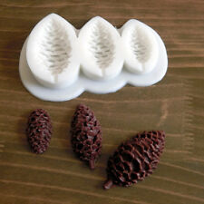 Pine Cone Nuts Silicone Fondant Mould Cake Decorating Chocolate Baking Mold DIY