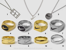 Nike Ring Swoosh Logo Mens Womens Jewellery Handmade Vintage Streetwear