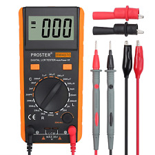 Proster Lcr Meter Lcd Capacitance Inductance Resistance Tester Measuring Meter
