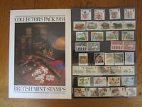 Great Britain, Royal Mail year pack 1984 complete mint sets
